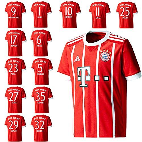 adidas FC Bayern München Stutzen Home 20172018 1 Gr.34 36