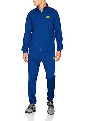 Nike Herren Academy 16 Knit Tracksuit Trainingsanzug,Blau